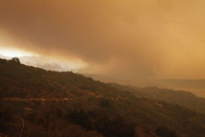 Lake Casitas Evacuation Ojai Thomas Fire Ventura County